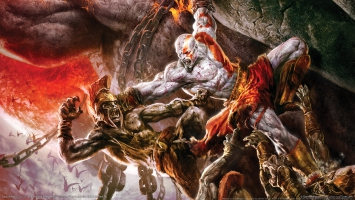 God of War 2 Game HDTV