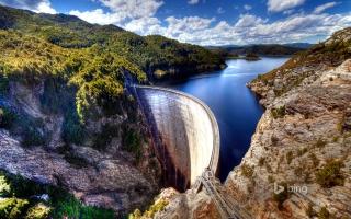 Gordon Dam Tasmania Australia