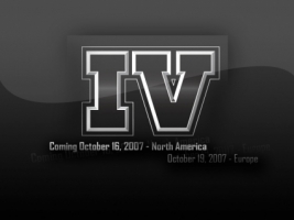Grand Theft Auto 4 Logo Wallpaper GTA IV Games