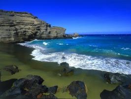 Green Beach Big Island