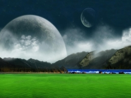 Green Dreams Wallpaper Landscape Nature
