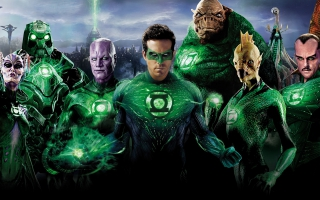 Green Lantern Superheroes