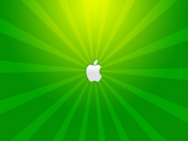 Green mac Wallpaper Apple Computers