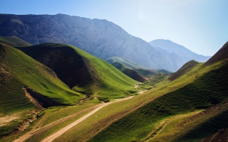 Green Mountains Afghanistan