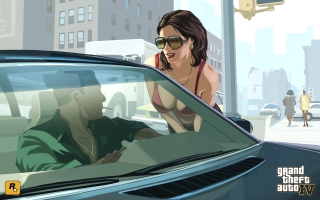 GTA IV Young Lady
