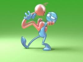 Halitosis Wallpaper 3D Characters 3D
