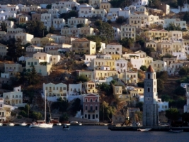 Harbor Town of Yialos Wallpaper Greece World