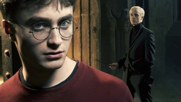 Harry Potter and Draco Malfoy