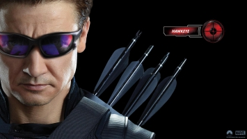 Hawkeye in Avengers Movie