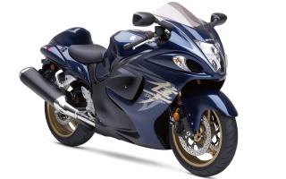Hayabusa Suzuki Blue Bike