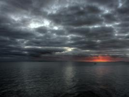 HDR Sunset Wallpaper Landscape Nature