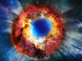 Helix Nebula Wallpaper Space Nature