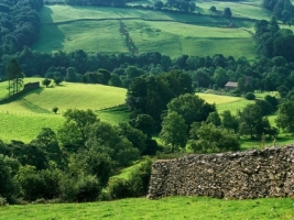 Hills of Troutbeck Wallpaper England World