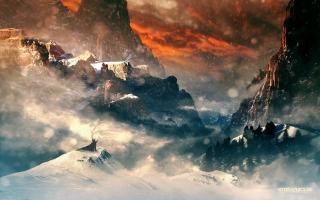 Hobbit Mountains