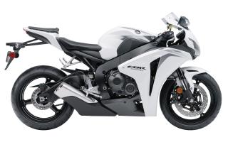Honda CBR 1000RR 2009 White