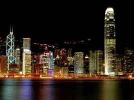 Hong Kong Night Wallpaper City World