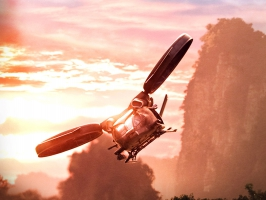 Hubschrauber Aircraft in Avatar
