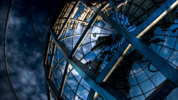 Huge Iron Globe