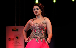 Huma Qureshi Ramp Walk
