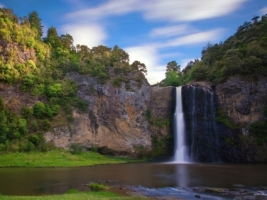 Hunua Falls Wallpaper New Zealand World
