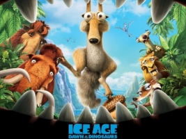 Ice Age 3 Wallpaper Ice Age Movies