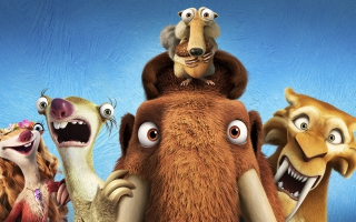 Ice Age Collision Course 4K 2016