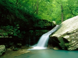 Indian Creek Wallpaper Waterfalls Nature