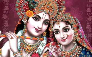 Indian God Radha Krishna