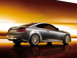 Infiniti G37 Coupe Rear and Side Wallpaper Infiniti Cars