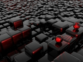 Interesting 3d shapes Wallpaper Abstract 3D