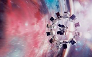 Interstellar Endurance Spaceship