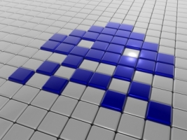 Invader Wallpaper 3D Models 3D