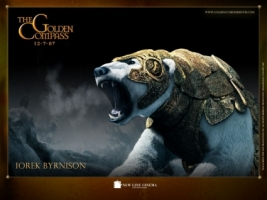 Iorek Wallpaper The Golden Compass Movies