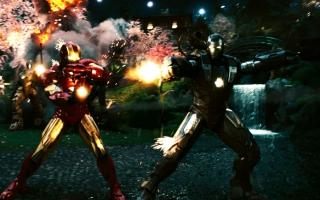Iron Man 2 Last Scene