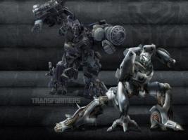 Ironhide Jazz Autobot Wallpaper Transformers Movies
