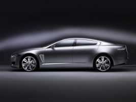 Jaguar C XF Studio Side Wallpaper Concept Cars