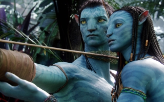 Jake Sully & Neytiri in Avatar