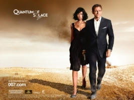 James Bond Quantum of Solace Wallpaper James Bond Movies