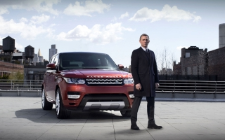 James Bond Range Rover Sport 2014
