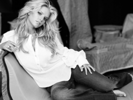 Jessica Simpson Black and White Wallpaper Jessica Simpson Female celebrities