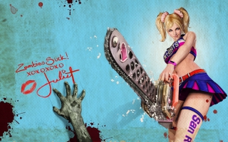 Juliet Cheerleader Zombie Hunter