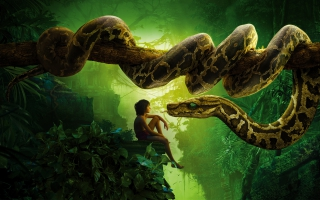 Jungle Book Snake Kaa Mowgli