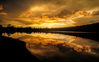 Kaibab Lake Sunset