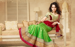 Kangana Ranaut in Traditional Saree