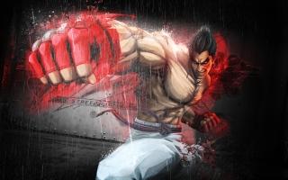 Kazuya Mishima in Tekken