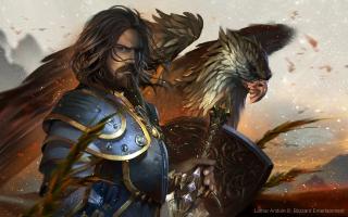 King Llane Wrynn Warcraft