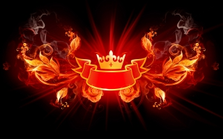 King of Fire Design HD Wide
