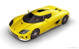 Koenigsegg CCX Yellow