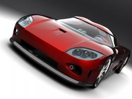 Koenigsegg Red Concept Car