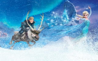 Kristoff Elsa in Frozen